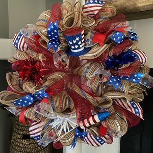 Other - Forth of July wreath